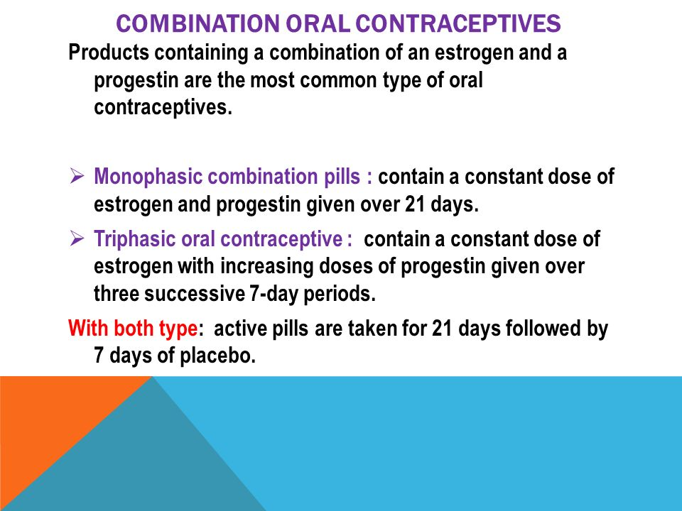 Monophasic birth control. Combined oral contraceptive pill Wikipedia