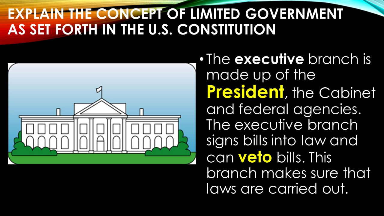 us government limiting powers Limited government powers of the united states government are enumerated and defined on this point of the limited and limiting meaning of the words.