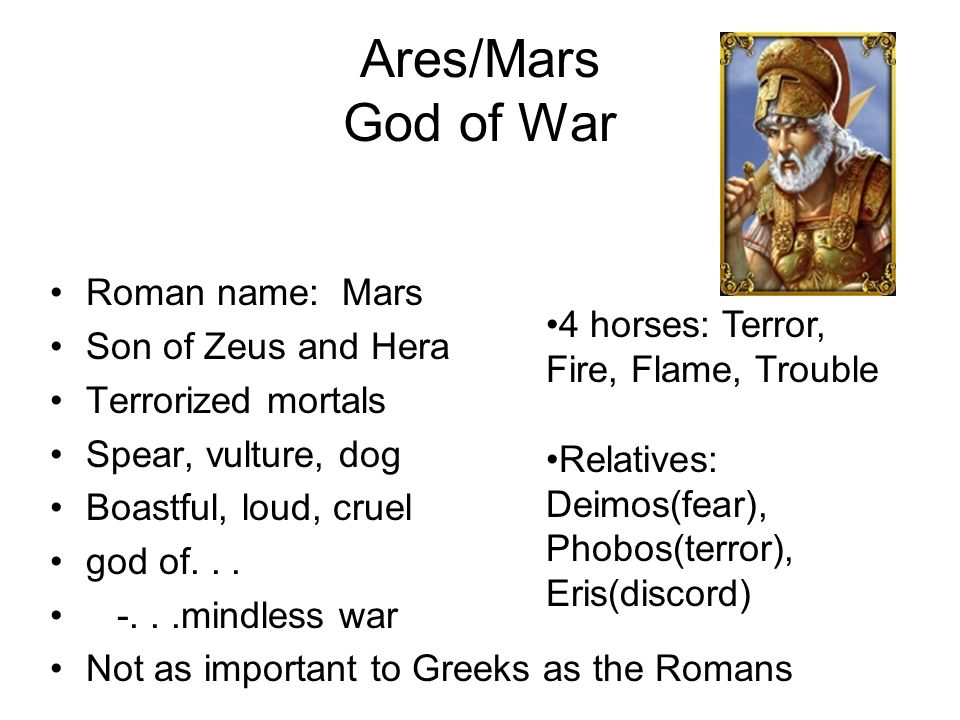 Ares Dog Name