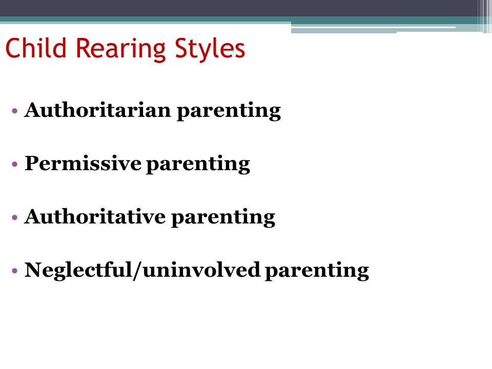 battle of the parenting styles authoritarian Authoritative vs authoritarian parenting style there's a big difference it has reflexes in russian too i suspect the russian word for battle is related, but i could be get the help you need from a therapist near you-a free service from psychology today north america: usa canada.