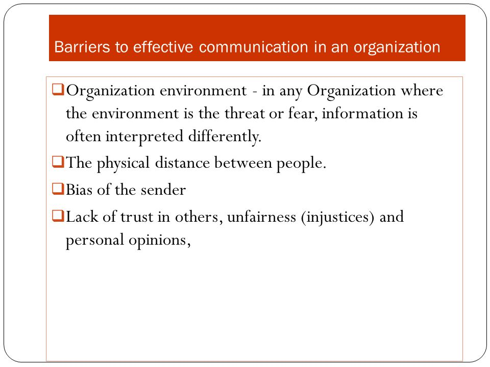 barriers to effective communication 2 essay Effective communication barriers to effective communication pa cja/304 november 16, 2011 barriers to effective communication paper communication enables human beings to interact in a meaningful way.