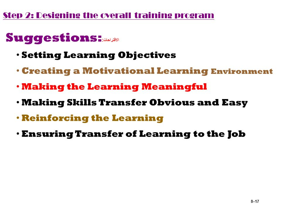 the four context that motivate learning According to bandura's social cognitive (learning) theory, an important source of motivation comes through the many links between goal setting and self-efficacy managers can begin by setting up small, basic goals leading up to larger, more difficult ones in order for the employee to develop beliefs of efficacy as each one that is successfully .