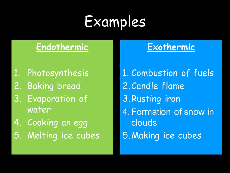 Exothermic and Endothermic Reactions - ppt video online ...