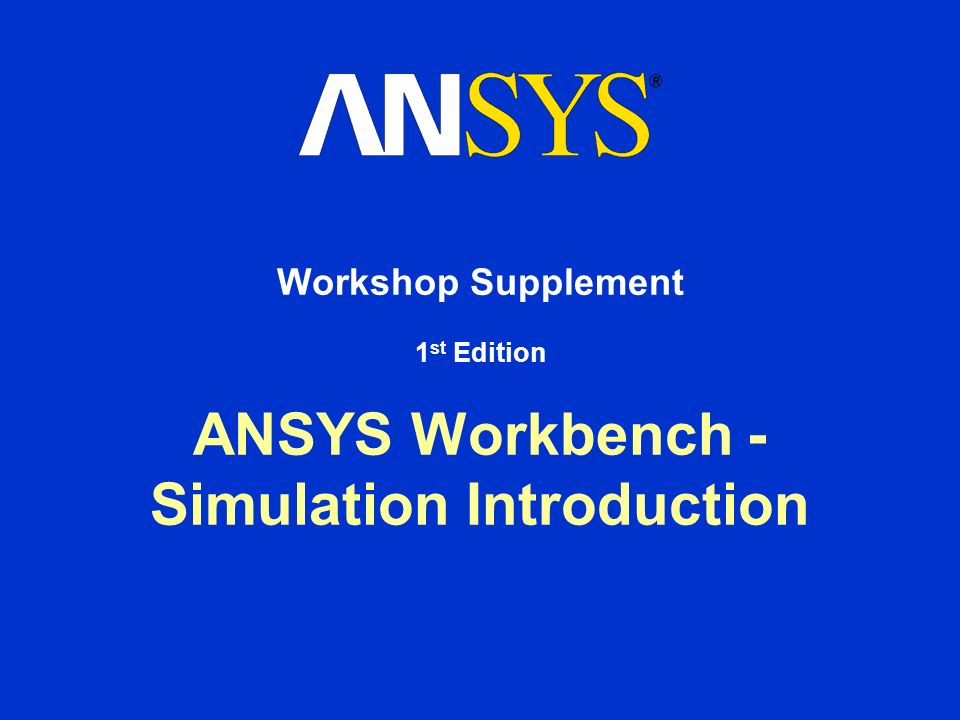 How To Download Ansys Workbench Stress analysis using ANSYS
