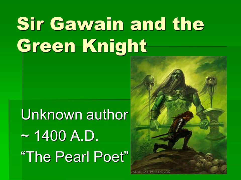 the characteristics of a hero depicted in sir gawain and the green knight by pearl poet