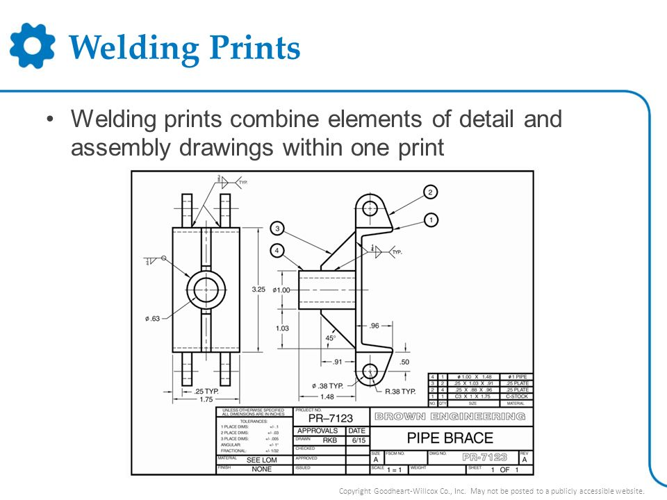 Unit 22 Welding Prints. Unit 22 Welding Prints. - ppt video online ...