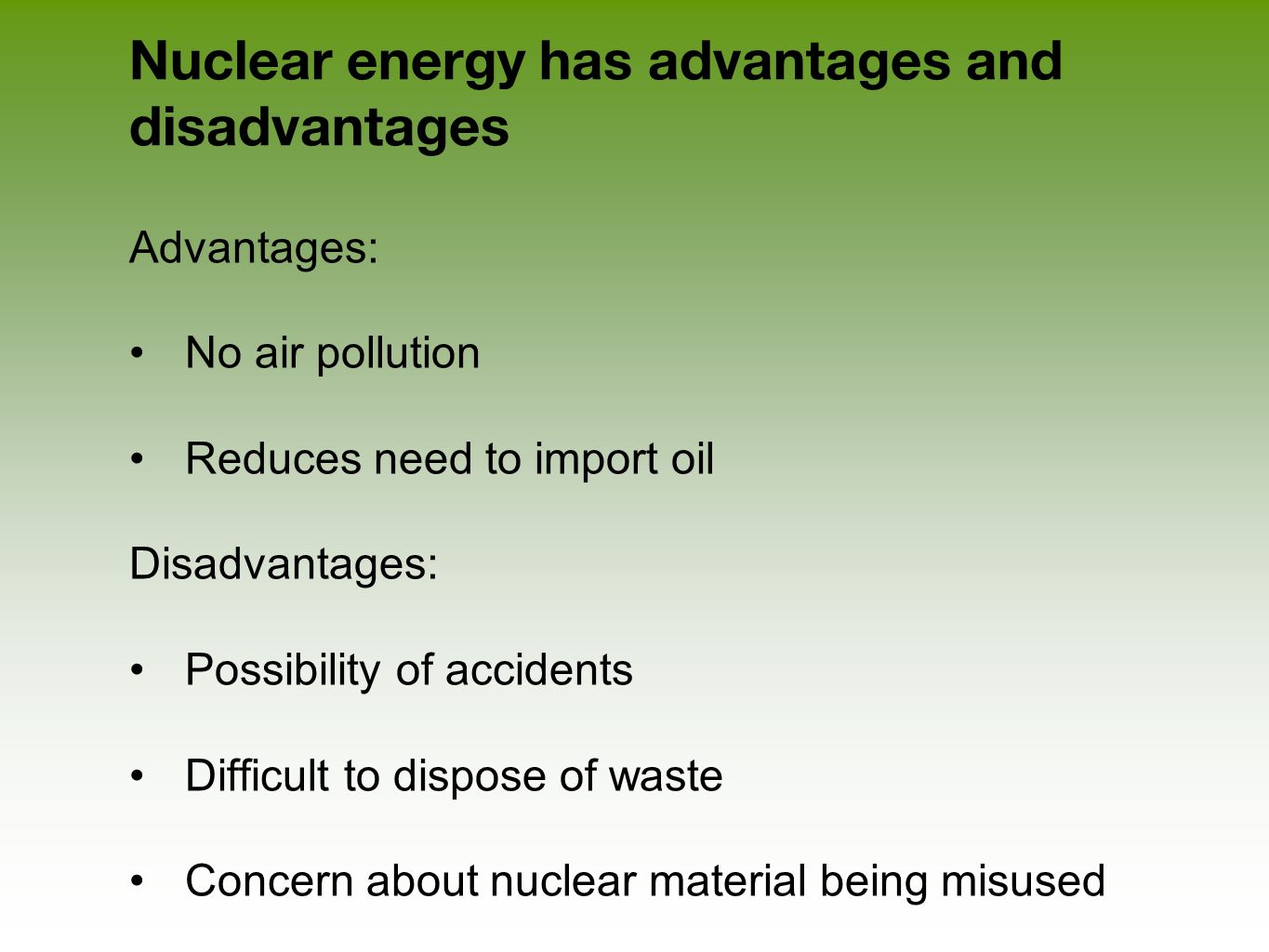 the advantages and disadvantages of pollution control