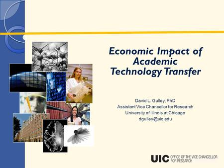 Economic Impact of Academic Technology Transfer