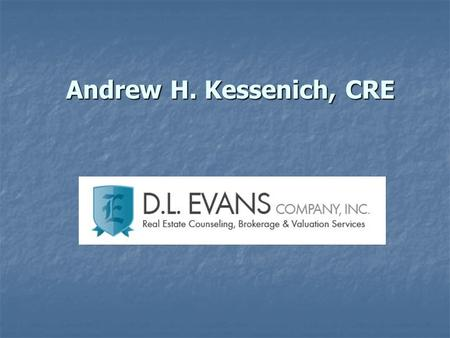 Andrew H. Kessenich, CRE. MADISON RETAIL MARKET REPORT 2010.