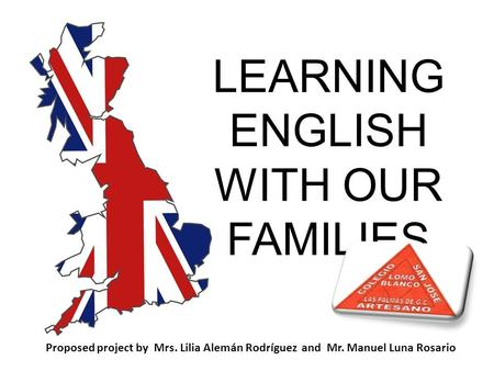 LEARNING ENGLISH WITH OUR FAMILIES