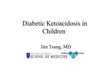 Diabetic Ketoacidosis in Children