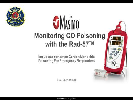 Monitoring CO Poisoning with the Rad-57TM