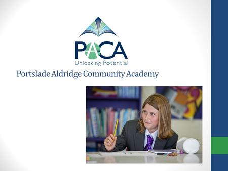 Portslade Aldridge Community Academy. Year 9 Option Process Spring 2012 Aims: Give general information regarding option process. Highlight key dates and.