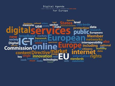 Every European Digital N. Kroes Why? from ICT as interesting to ICT as hugely important.