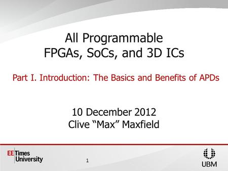 All Programmable FPGAs, SoCs, and 3D ICs