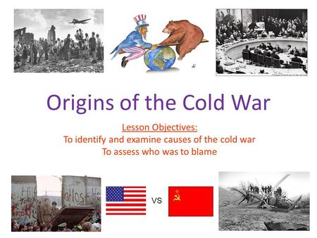 who was to blame for cold So the blame for the cold war could be ussr for its action or the blame for the cold war could be usa for its reaction but the blame should really be put upon both ussr and usa equally, since it takes at least two enemies for a war to exist which in this case, is called the cold war.