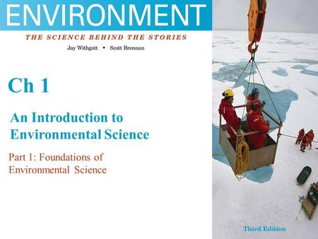 Ch 1 An Introduction to Environmental Science