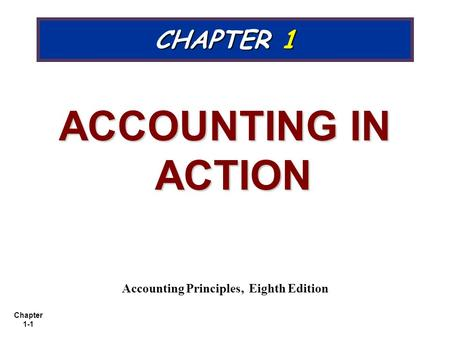 <strong>Accounting</strong> <strong>Principles</strong>, Eighth Edition