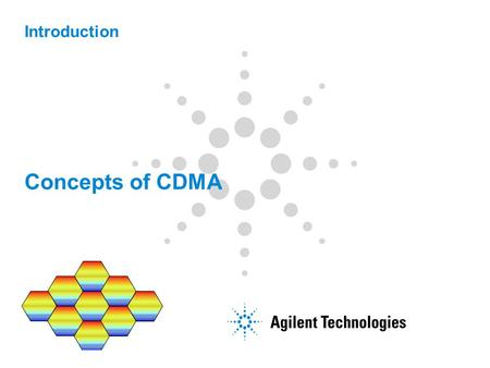 Concepts of CDMA Introduction