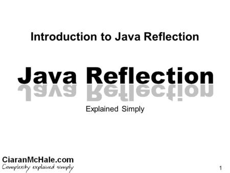 Introduction to Java Reflection