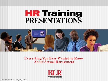 Everything You Ever Wanted to Know About Sexual Harassment