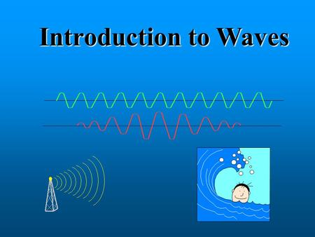 Introduction to Waves.