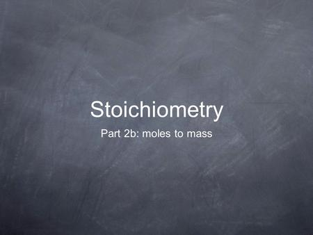 Stoichiometry Part 2b: moles to mass. What mass of carbon dioxide, in grams, is needed to react 3.00 mol of H 2 O in the photosynthetic reaction described.
