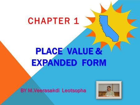 Place value & Expanded form