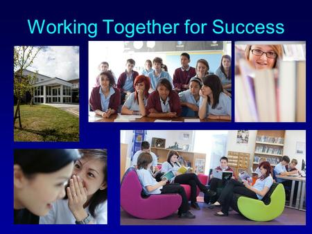 Working Together for Success The Key Stage 4 Manager My aim is to help solve any issues that may arise concerning the curriculum. Concerns in lessons.