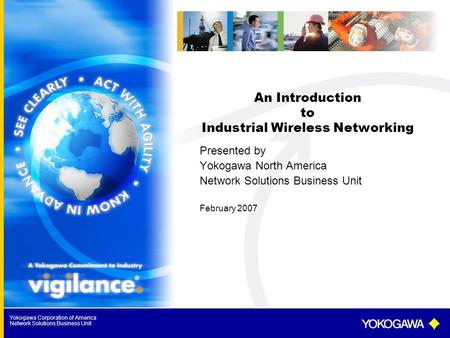 An Introduction to Industrial Wireless Networking