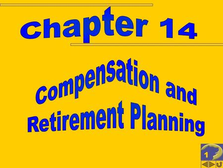 11. 22 COMPENSATION & RETIRMENT PLANNING Employee vs. independent contractor Salaries Employee fringe benefits Employee stock options Employment-related.