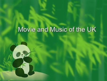 Movie and Music of the UK. British Academy Film The British Academy Film Awards is an annual award show hosted by the British Academy of Film and Television.