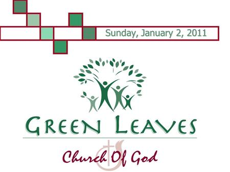 Sunday, January 2, 2011. Many Are Invited Matthew 22:1-14.