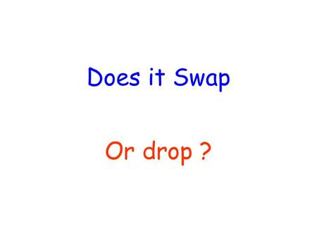 Does it Swap Or drop ?. Main Auxiliaries DROP : Do Does Did SWAP : To be + Ing Have/Has+ Participle Will + Verb Would + Verb.