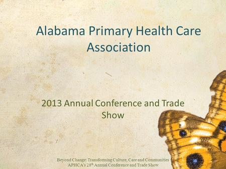 Alabama Primary Health Care Association