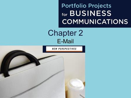 Chapter 2 E-Mail. Project 2 Objectives Understand e-mail uses Write subject lines Use an appropriate tone Format an e-mail Identify e-mail program features.