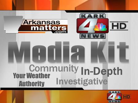 Community Investigative In-Depth Your Weather Authority.