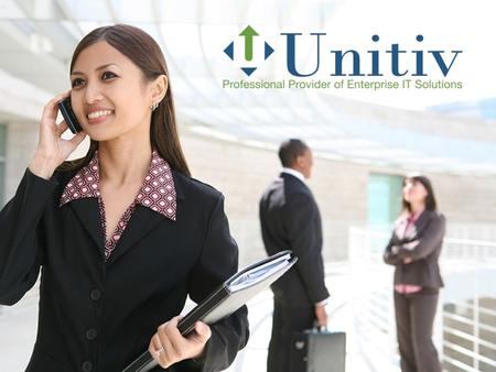 Unitiv, Inc. is a professional provider of enterprise IT solutions. Headquartered in Alpharetta, GA, we deliver IT services and solutions Nationwide.