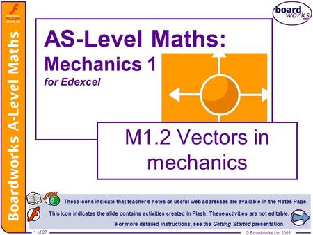 AS-Level Maths: Mechanics 1 for Edexcel