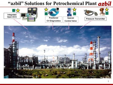 """azbil"" Solutions for Petrochemical Plant"