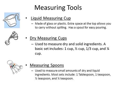 Measuring Tools Liquid Measuring Cup Dry Measuring Cups