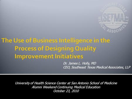 The Use of Business Intelligence in the. Process of Designing Quality