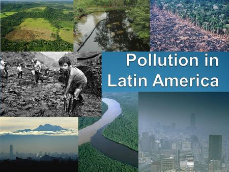 Pollution in Latin America