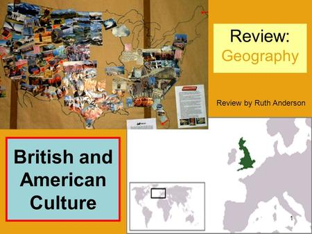 British and American Culture