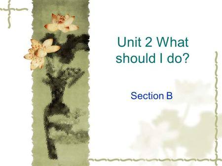 Unit 2 What should I do? Section B. copy out of style expensive comfortable original in style inexpensive uncomfortable.