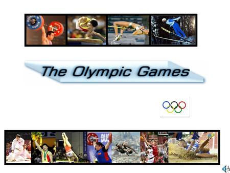 Lead-in 1.What is the themes (主题) <strong>of</strong> the Olympic <strong>Games</strong>?