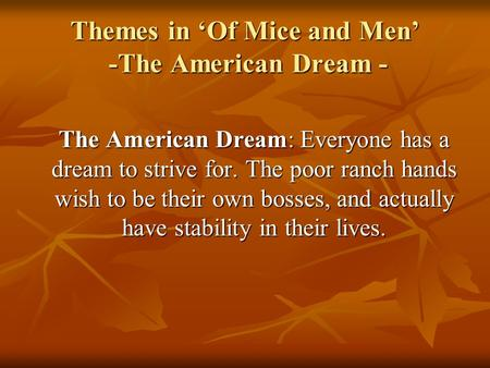 of mice and men hopes and dreams quotes