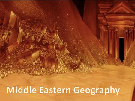 Middle Eastern Geography