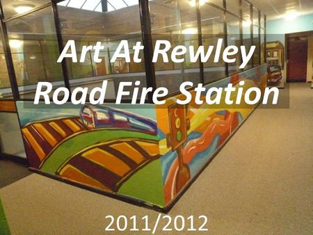 Art At Rewley Road Fire Station 2011/2012. Part One : Workshops with Adult Learners and Oxfordshire Adult Learning Yesterday (Tuesday 9/8/11) I enjoyed.