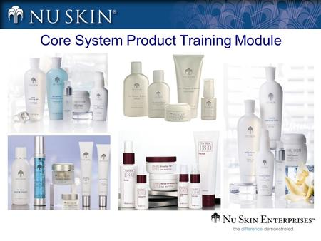 Core System Product Training Module